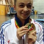 Vice championne du Monde katas équipe et 3ème aux championnats d'Europe