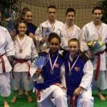 Les médaillés Milon Cup 2014 à Thonon Les Bains
