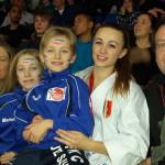 Perrine avec la famille Mermillod Blondin