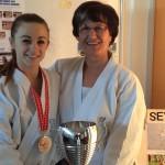 Championnats d'Europe avec Gamra