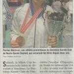 Article du Dauphiné du 17 février 2015
