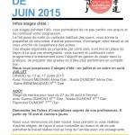 1-Infos karaté  juin 2015