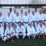 Le groupe des ceintures noires