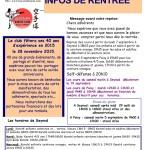 1-Infos club Août 2015