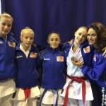 Alanis, Mathilde, Emma, Perrine et Nadia