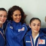 Anaïs, Emma, Mathilde avec Nadia
