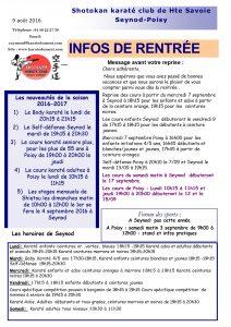 1-Les Infos club 9- 08-2016