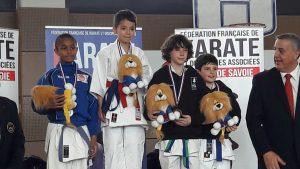 Le podium Yanis