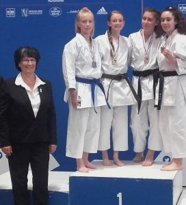 Podium de Mathilde