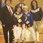 2 médailles d'or pour Seynod : Sandy SCORDO et Mathilde MERMILLOD BLONDIN