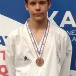 Médaille de bronze pour Killian COQUIDE au championnat de France combats 2 juin 2019 à Paris