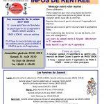 INFOS DE RENTREE 2019/2020
